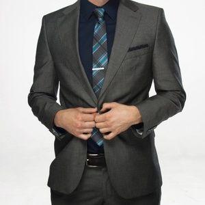 Zara Men's 38R Gray Suit